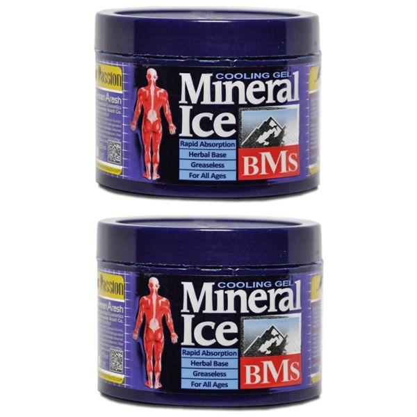 ژل خنک کننده بدن مینرال مدل ICE مجموعه 2 عددی حجم 200 میلی لیتر