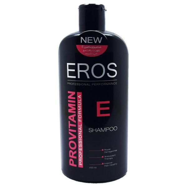 شامپو تقویت کننده مو ایروس مدل ویتامین E