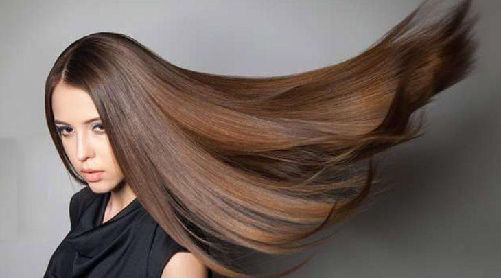 موهای ابریشمی با روغن نارگیل