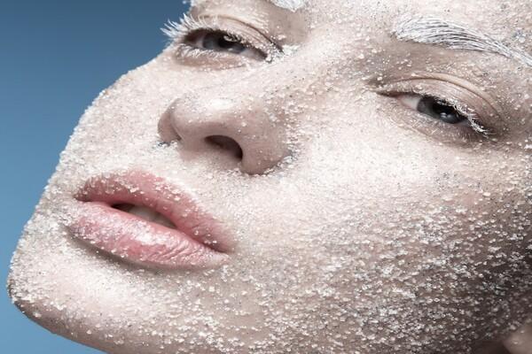 پاکسازی پوست با شکر
